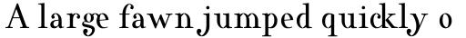 Varius 1 LT Std Roman sample