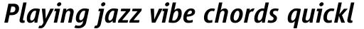 Vialog Medium Italic sample
