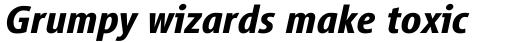 Vialog Bold Italic sample