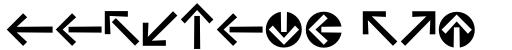 Vialog Signs Arrows Four sample