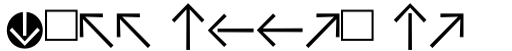 Vialog Signs Arrows Two sample