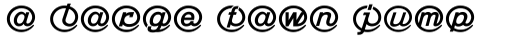 Linotype Mailbox Heavy sample