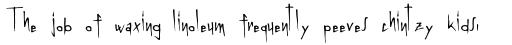 Linotype Graphena sample