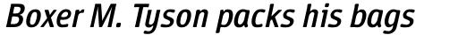 Vecta DT Italic sample
