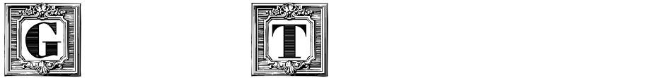Click to view Gras Vibert Handtooled Capitals font, character set and sample text