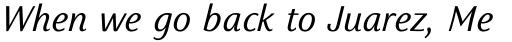 Sassoon Primary Italic sample