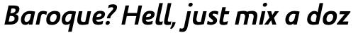 Legal Bold Italic sample