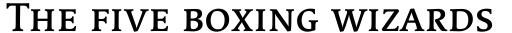 Linotype Syntax Serif SC Medium sample