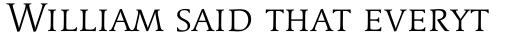 Linotype Syntax Serif SC Light sample