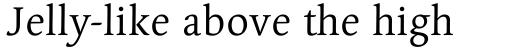 Linotype Syntax Serif OsF Regular sample