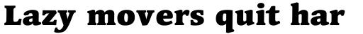 Linotype Syntax Serif OsF Black sample