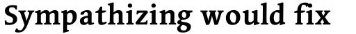 Linotype Syntax Serif OsF Bold sample