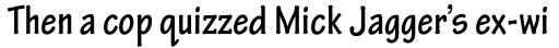 Tekton Pro Condensed Bold sample