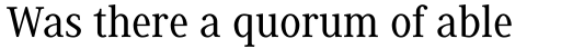 Generis Serif Com Medium sample
