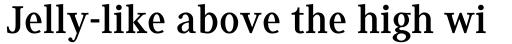 Generis Serif Com Bold sample