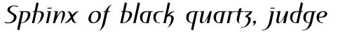 Perceval Italic sample