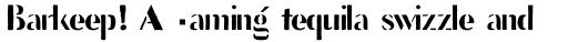Stencil Full Sans sample