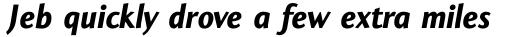 Coeval Bold Italic sample
