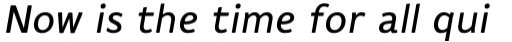 Flembo Title Italic sample