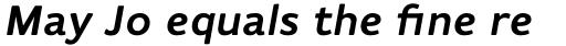 Flembo Title Bold Italic sample