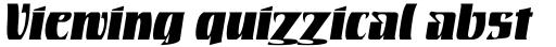Rustikalis DT Black Oblique sample