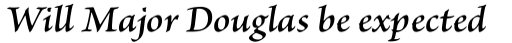 Brioso Pro SemiBold Italic sample