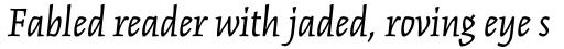 Kinesis Std Italic sample