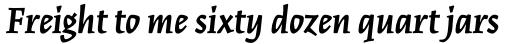 Kinesis Std Bold Italic sample