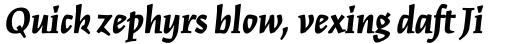 Kinesis Std Black Italic sample
