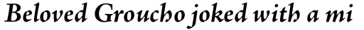 Adobe Jenson Pro Bold Italic sample