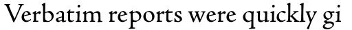 Adobe Jenson Pro Regular sample