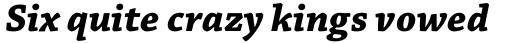 Chaparral Pro Caption Bold Italic sample