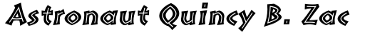 Pompeia Std Inline Italic sample