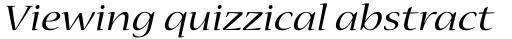 Nueva Std Ext Italic sample