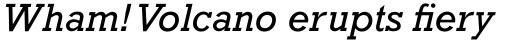Rockwell Std Italic sample