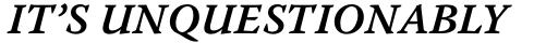 Warnock Pro Caption SemiBold Italic sample