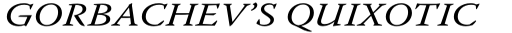 Warnock Pro Italic sample