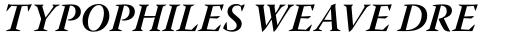 Warnock Pro SubHead Bold Italic sample