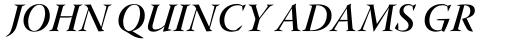 Warnock Pro Display SemiBold Italic sample