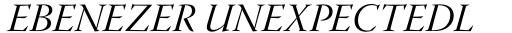 Warnock Pro Display Italic sample