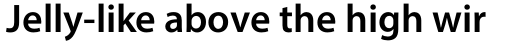 Myriad Pro SemiBold sample