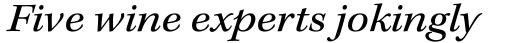 Kepler Std Ext Italic sample