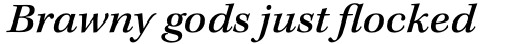 Kepler Std Ext Medium Italic sample
