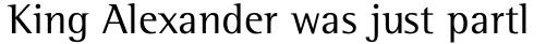 Rotis Semi Serif Std sample