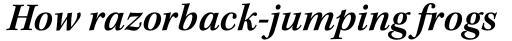 Kepler Std SemiBold Italic sample