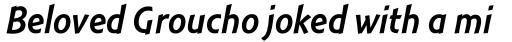 Montara Italic sample