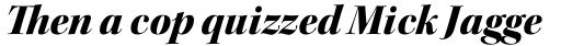 Kepler Std Display Black Italic sample