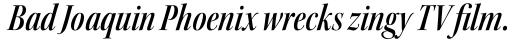 Kepler Std Display Cond SemiBold Italic sample