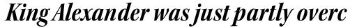 Kepler Std SubHead Cond Bold Italic sample