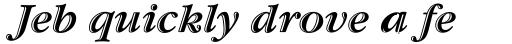 Garamond Std Handtooled Bold Italic sample